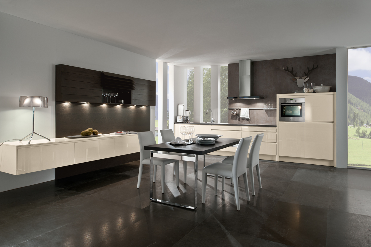 Moderne keukens vindt u in friesland bij huizenga keukenstyle for Couleur magnolia cuisine