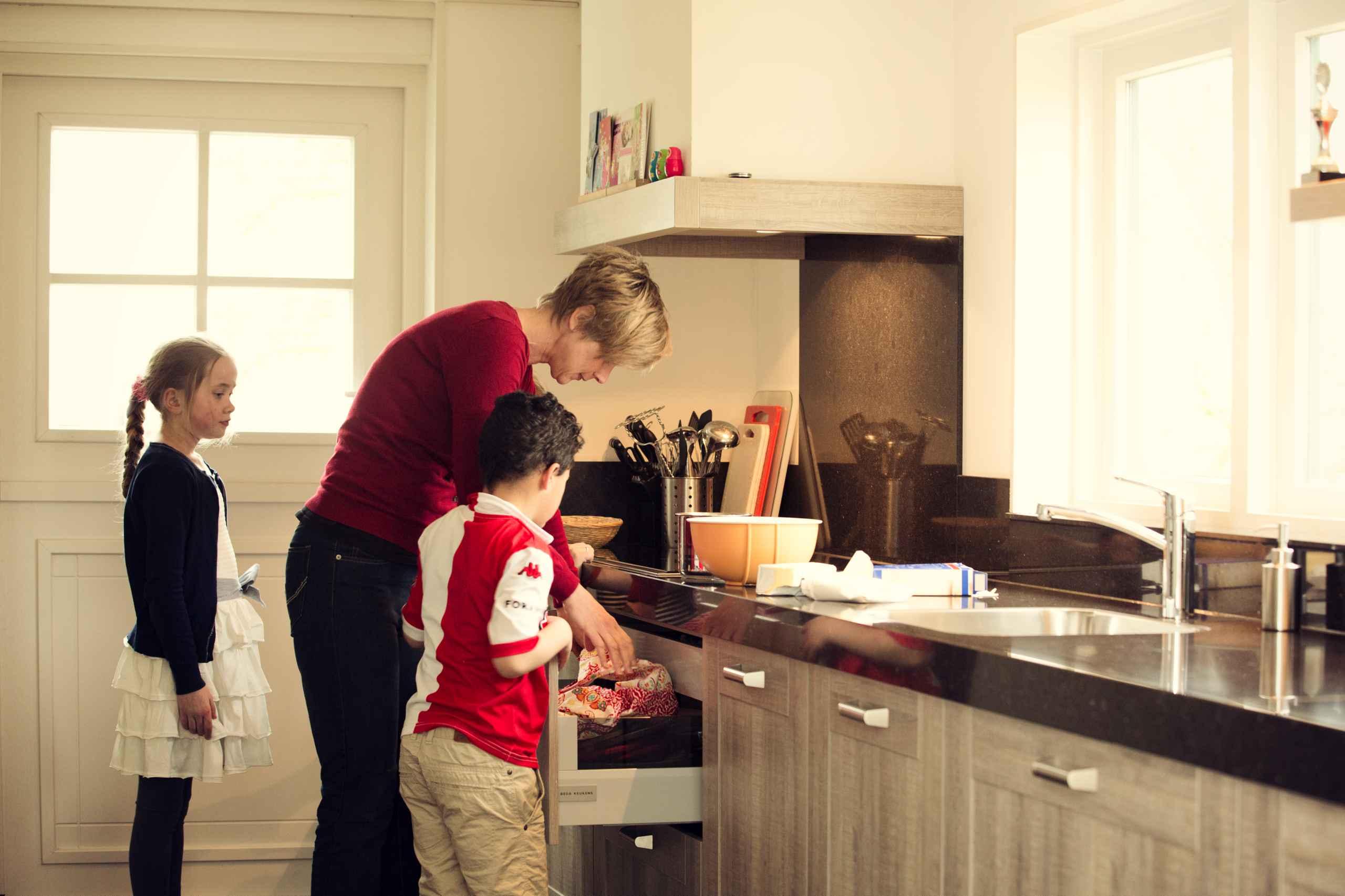 Keuken Zonder Inbouwapparatuur : keuken in houtlook authentiek eiken ...